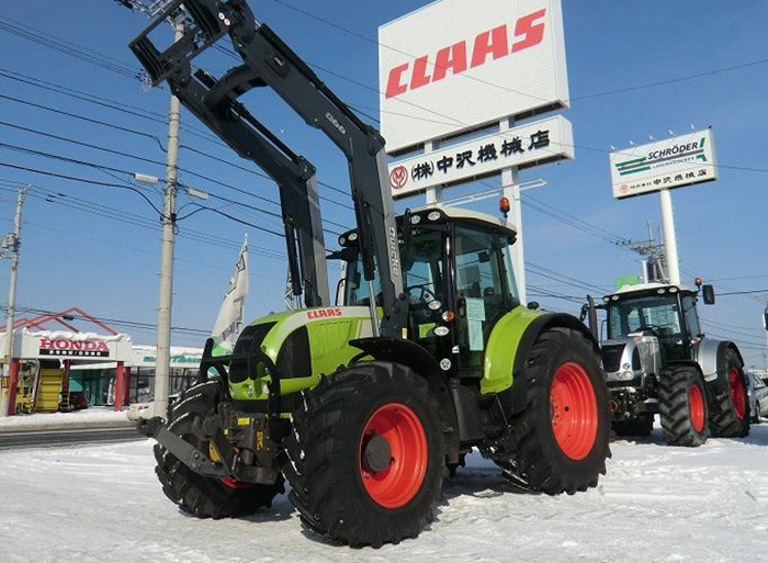 実績4  CLAAS ARION 640  1300時間