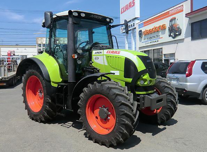 実績7 CLAAS ARION 510  500時間